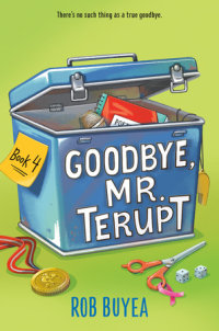 Cover of Goodbye, Mr. Terupt cover