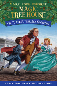 Book cover for To the Future, Ben Franklin!