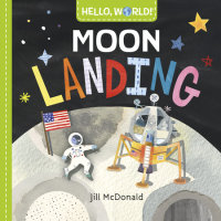 Book cover for Hello, World! Moon Landing