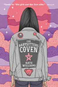 Book cover for The Babysitters Coven