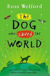 Book cover for The Dog Who Saved the World