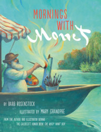 Cover of Mornings with Monet cover
