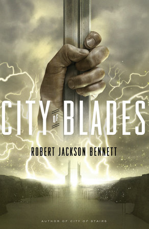 City of Blades book cover