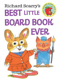Book cover for Richard Scarry\'s Best Little Board Book Ever