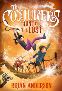 Cover of The Conjurers #2: Hunt for the Lost cover