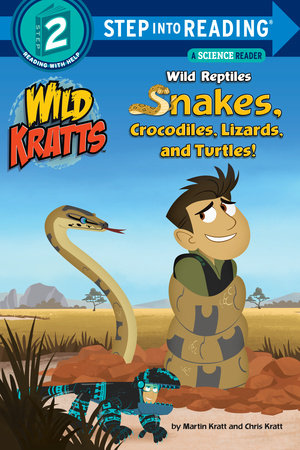 Step Into Reading Wild Reptiles Snakes Crocodiles