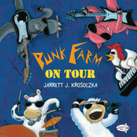 Book cover for Punk Farm on Tour