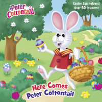 Book cover for Here Comes Peter Cottontail Pictureback (Peter Cottontail)