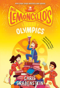 Book cover for Mr. Lemoncello\'s Library Olympics
