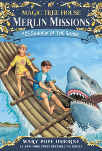 Book cover for Shadow of the Shark