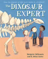 Book cover for The Dinosaur Expert