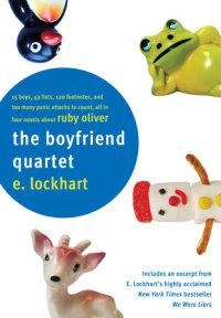 Book cover for The Boyfriend Quartet