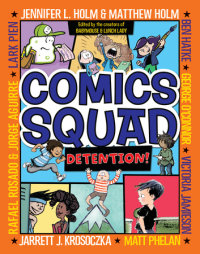 Cover of Comics Squad #3: Detention! cover