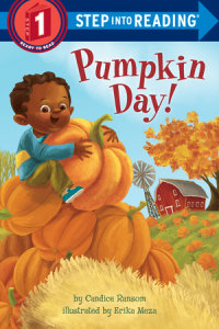 Book cover for Pumpkin Day!