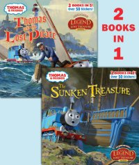 Book cover for Thomas and the Pirate/ The Sunken Treasure (Thomas & Friends)