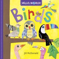 Book cover for Hello, World! Birds