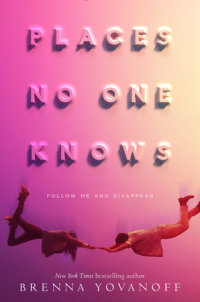 Book cover for Places No One Knows