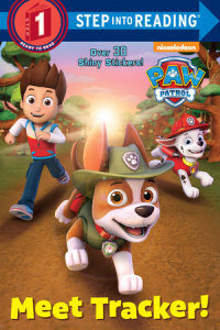 Book cover for Meet Tracker! (PAW Patrol)