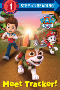 Cover of Meet Tracker! (PAW Patrol) cover