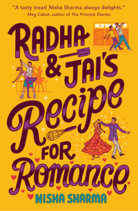 Book cover for Radha & Jai\'s Recipe for Romance