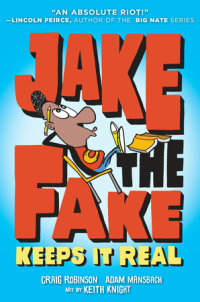 Book cover for Jake the Fake Keeps it Real