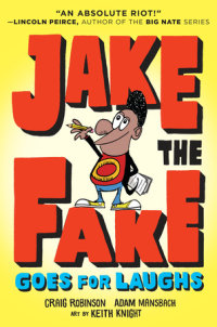 Cover of Jake the Fake Goes for Laughs cover