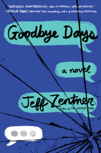 Book cover for Goodbye Days