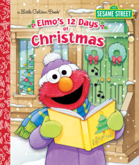 Book cover for Elmo\'s 12 Days of Christmas