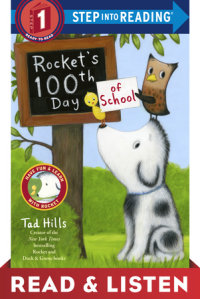 Book cover for Rocket\'s 100th Day of School: Read & Listen Edition