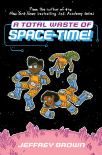 Book cover for A Total Waste of Space-Time!