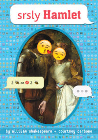 Book cover for srsly Hamlet
