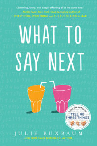 Book cover for What to Say Next