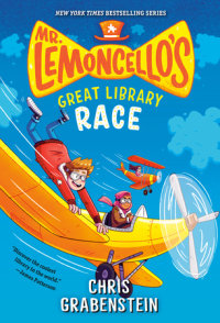 Book cover for Mr. Lemoncello\'s Great Library Race