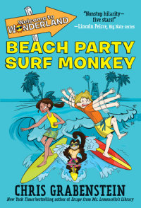 Cover of Welcome to Wonderland #2: Beach Party Surf Monkey cover
