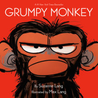 Book cover for Grumpy Monkey