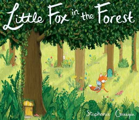 Cover image for Little Fox in the Forest