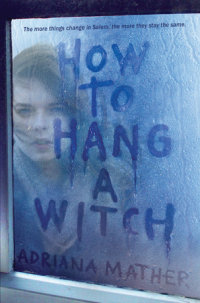 Book cover for How to Hang a Witch