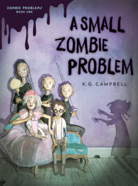 Cover of A Small Zombie Problem cover