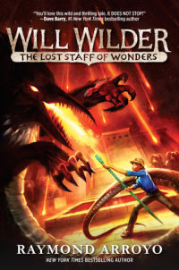 Book cover for Will Wilder #2: The Lost Staff of Wonders