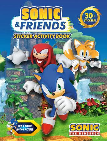 Sonic & Friends Sticker Activity Book