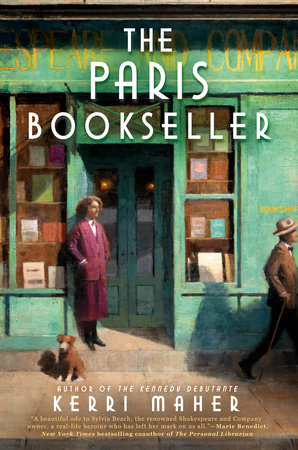 Cover image for The Paris Bookseller