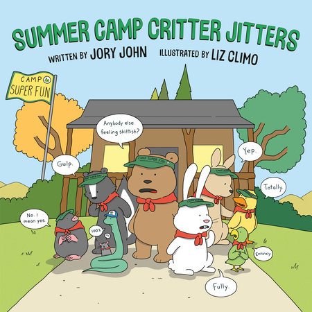 Summer Camp Critter Jitters