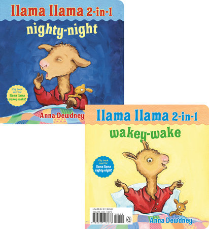 Llama Llama 2-in-1: Wakey-Wake/Nighty-Night