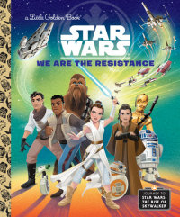 Book cover for We Are the Resistance (Star Wars)