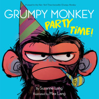 Book cover for Grumpy Monkey Party Time!
