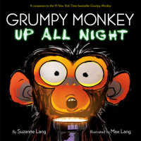 Book cover for Grumpy Monkey Up All Night