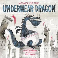 Book cover for Attack of the Underwear Dragon