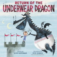 Book cover for Return of the Underwear Dragon
