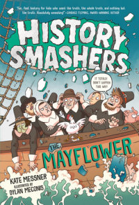 Cover of History Smashers: The Mayflower cover