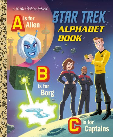 Star Trek Alphabet Book (Star Trek)